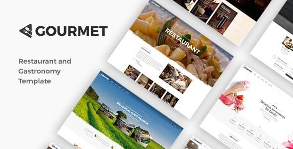 美国餐馆网站设计